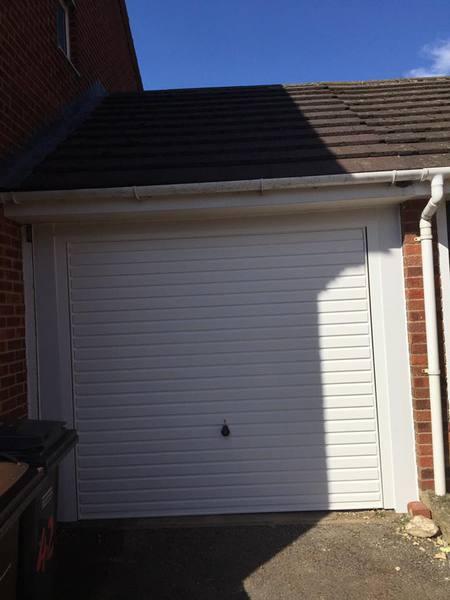 Hormann White Horizontal Canopy Garage Door. Installed In Chalgrove, Thame Garage  Doors   Your