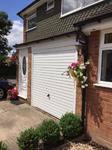 Hormann white Horizontal Canopy garage door. Installed in Middle Way Chinnor, Thame Garage Doors - Your Local Garage Door Expert