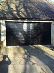 Hormann Jet Black M ribbe LPU40 sectional door with supramatic operator installed in Tetsworth, Thame Garage Doors - Your Local Garage Door Expert
